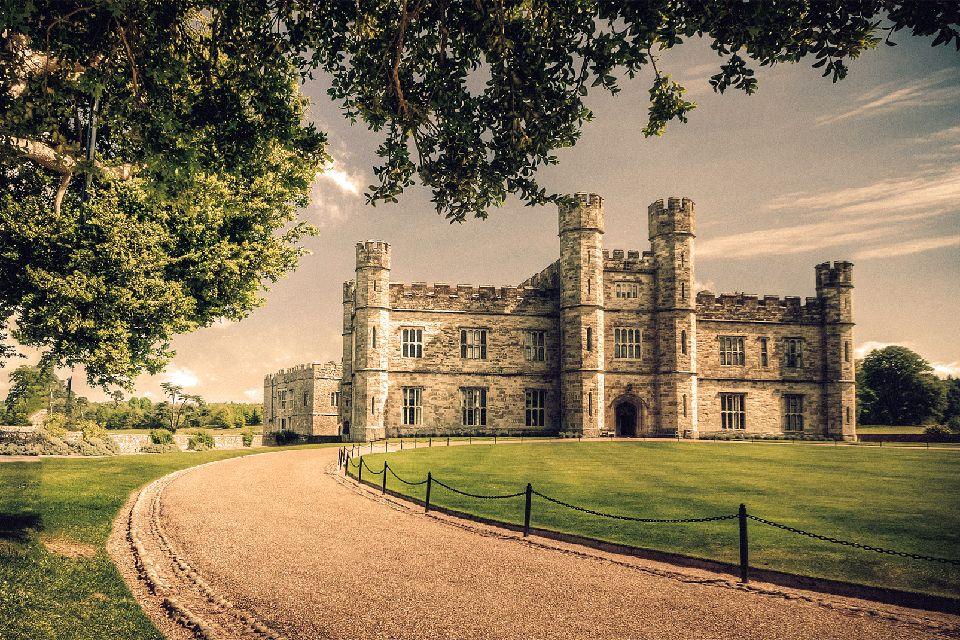 Le Château de Leeds , Le château et son parc , Royaume-Uni