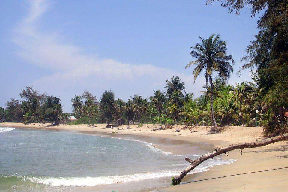 Le littoral ouest, Les côtes, Côte d'Ivoire