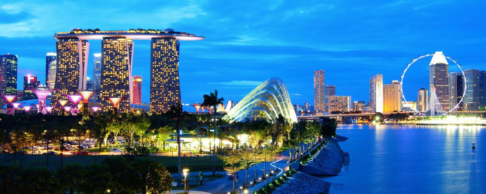 Marina bay sands singapour for Marinal piscine