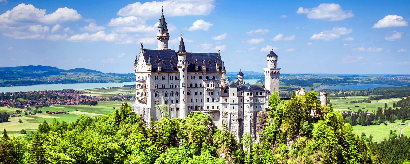 Préférence Le château de Neuschwanstein - Allemagne OZ75