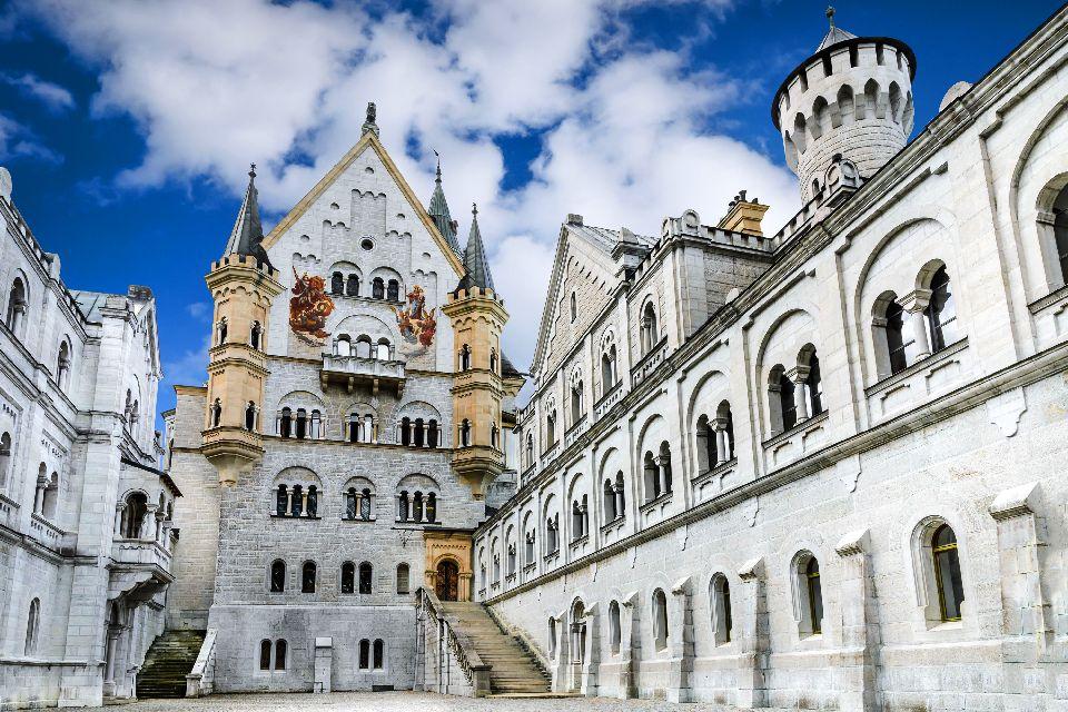 Le château de Neuschwanstein , Allemagne