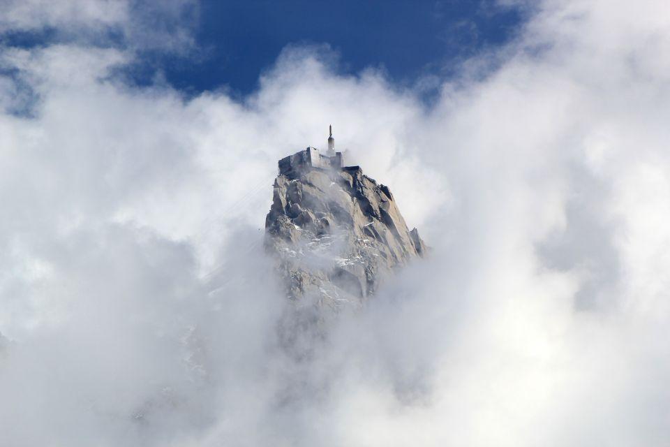 L'Aiguille du Midi , Presque au sommet de l'Europe , France
