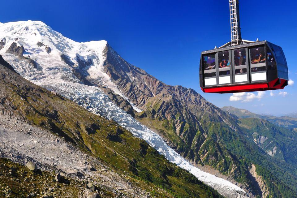 L'Aiguille du Midi , Le téléphérique de l'Aiguille , France