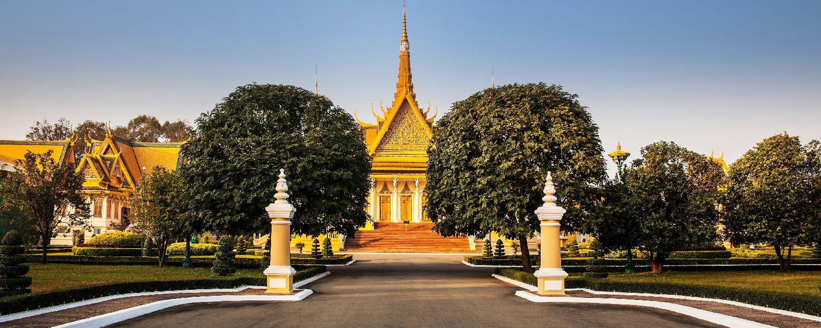 La Pagode d'argent de Phnom Penh , Cambodge