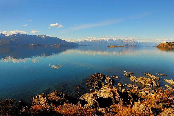 Le lac General Carrera , Argentine