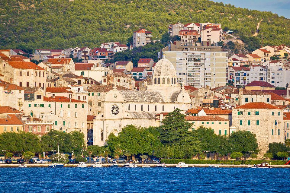 Cathédrale Saint-Jacques de ?ibenik , Croatie