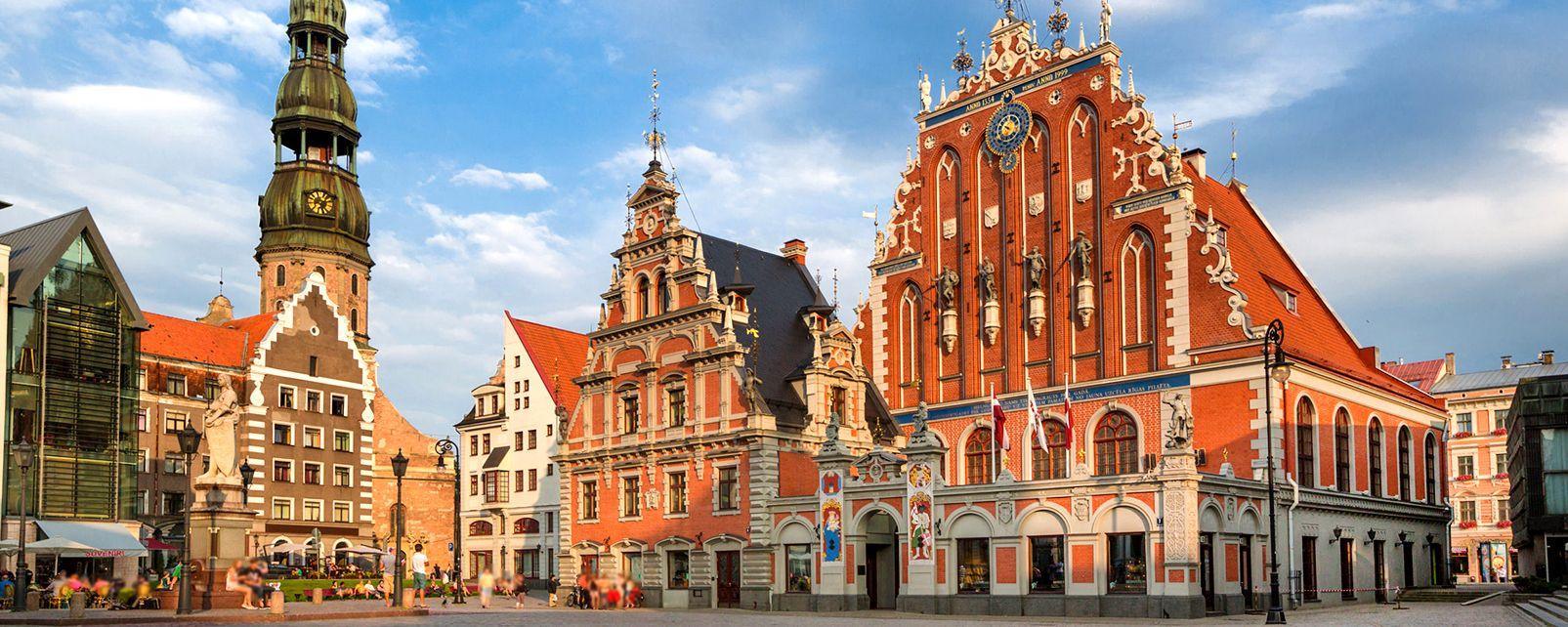 Le centre historique de Riga , Lettonie