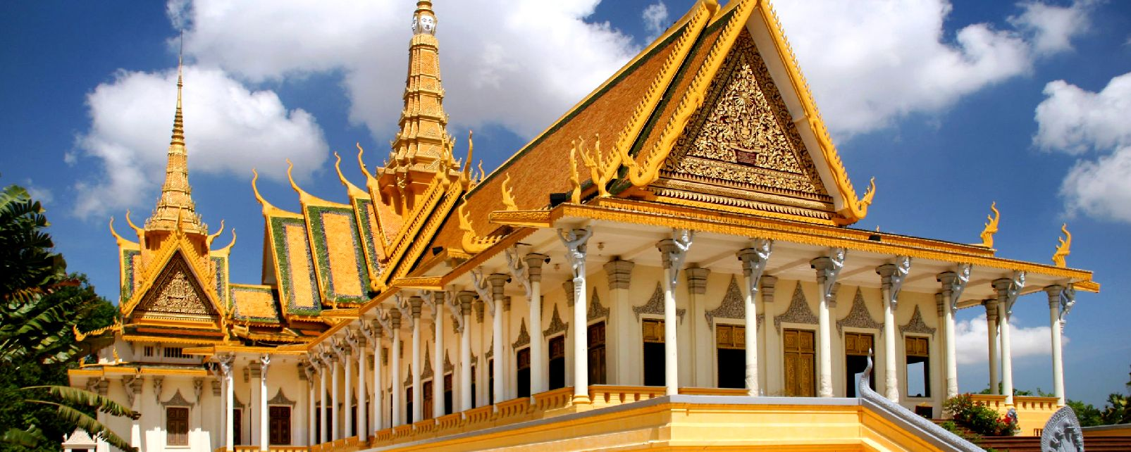 Fabuleux Le palais royal de Phnom Penh - Cambodge QO94