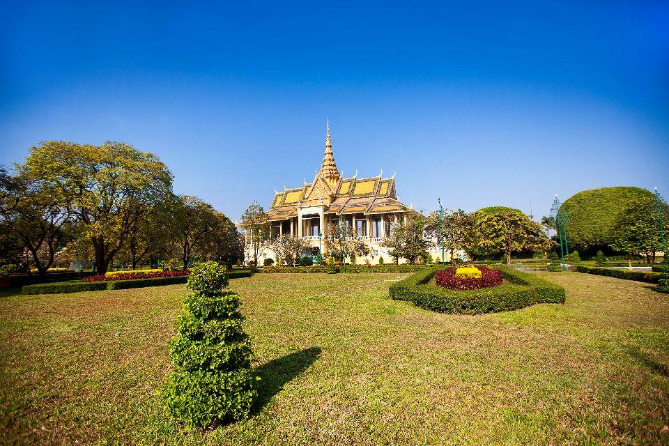 Le palais royal de Phnom Penh , Cambodge