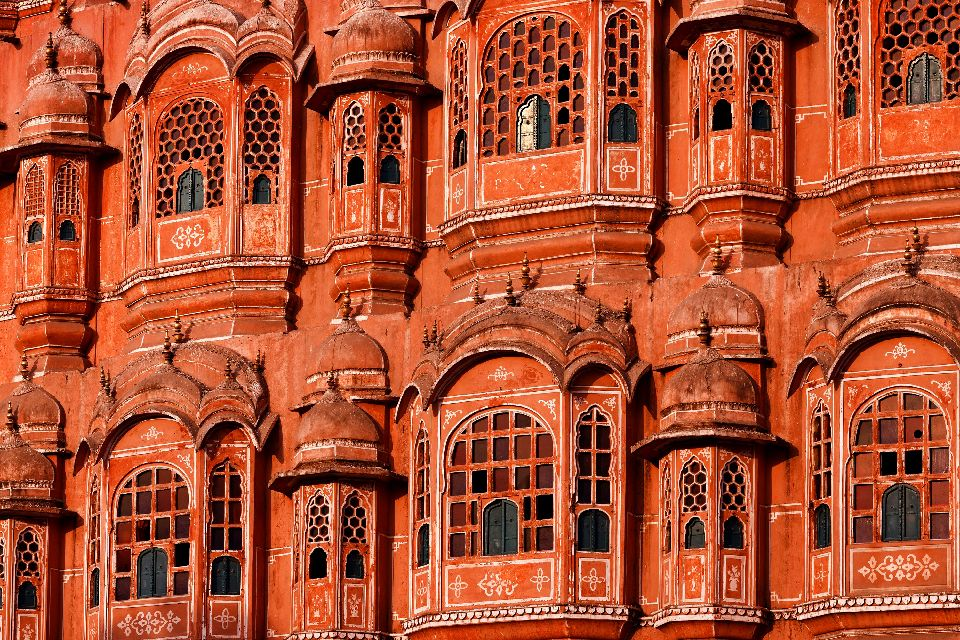Le palais des vents de Jaipur , Inde