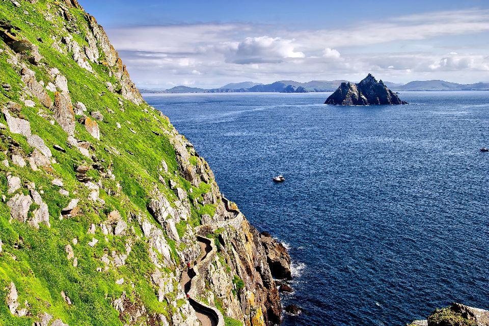 Les îles Skellig , Irlande