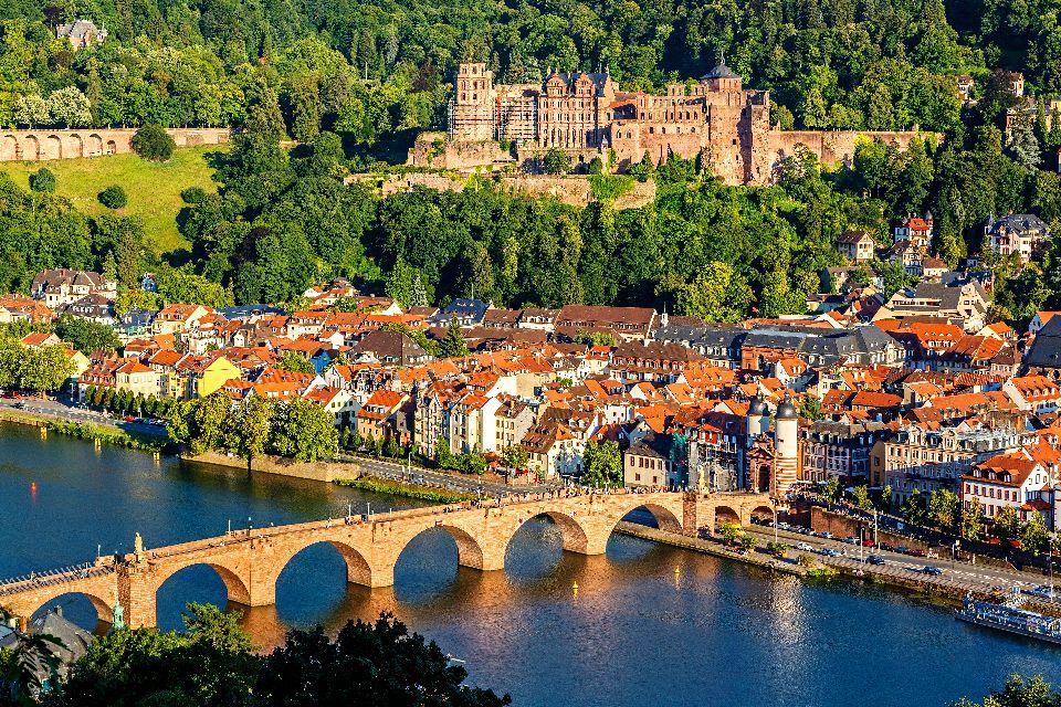 Le château d'Heidelberg , Allemagne