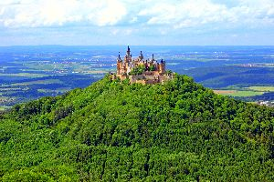 Le château des Hohenzollern , Allemagne