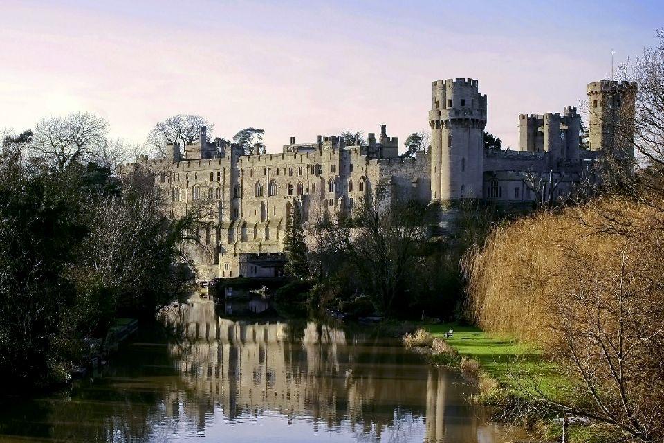 Warwick Castle , Une vision romantique , Royaume-Uni