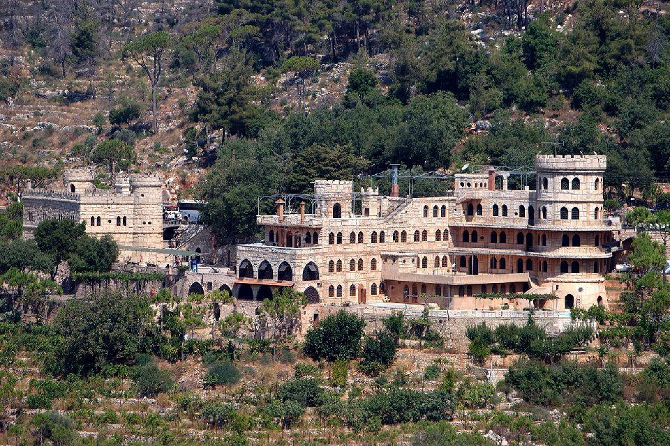 Le château de Moussa à Deir El Qamar , Liban