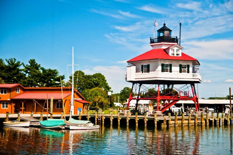 La baie de Chesapeake , La taille de l'estuaire , Etats-Unis