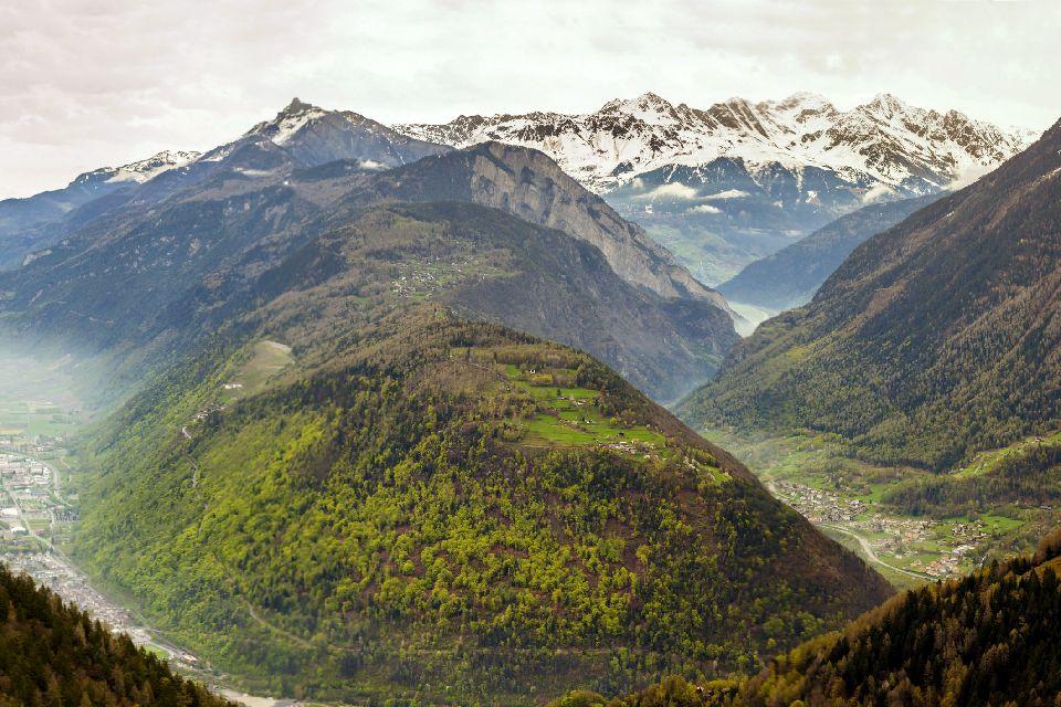 Les Gorges du Trient , Suisse