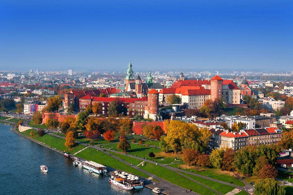 Le centre historique de Cracovie , Pologne
