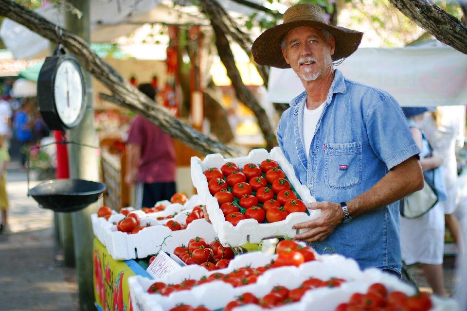 L'Eumundi Market dans le Queensland , Australie