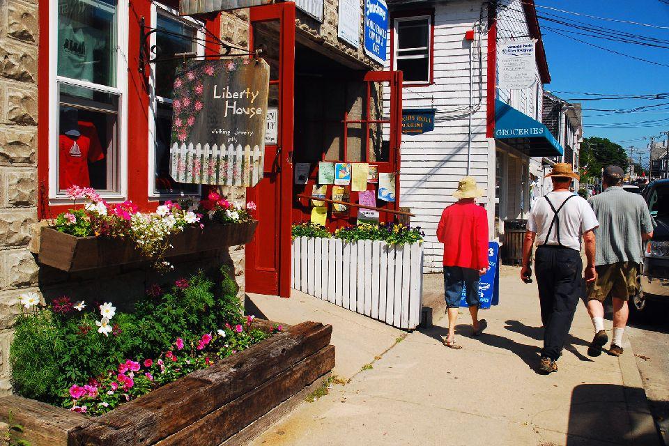 Cape Cod , Des petits villages charmants , Etats-Unis