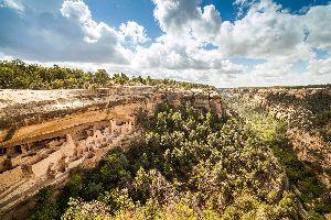 Le parc national de Mesa Verde , Etats-Unis