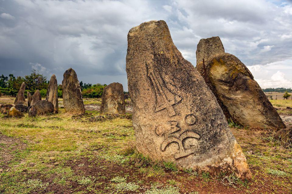 Le champ de stèles de Tiya , Ethiopie