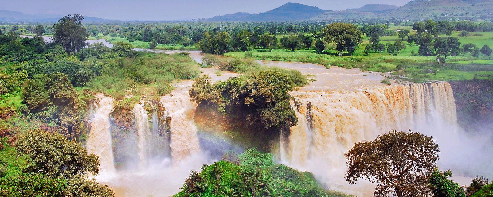 Les chutes du Nil Bleu , Ethiopie