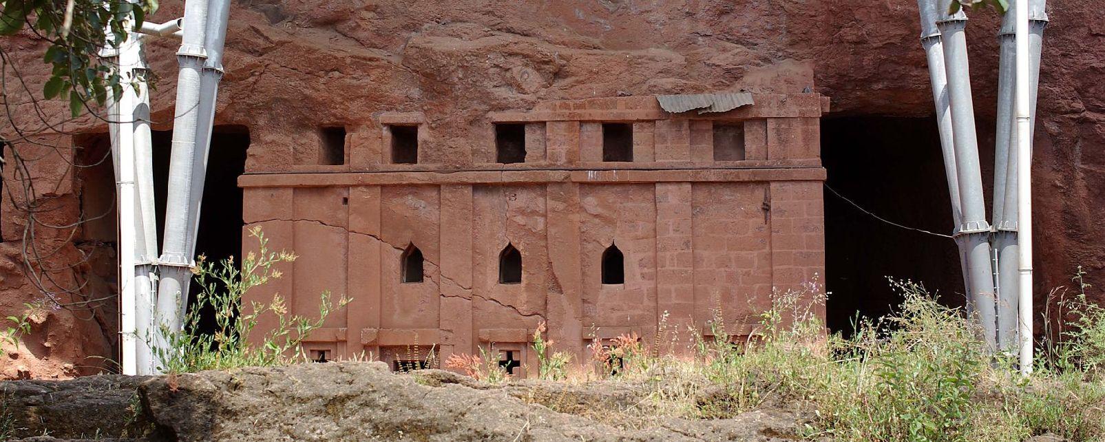 Les églises troglodytes du Tigré , Ethiopie