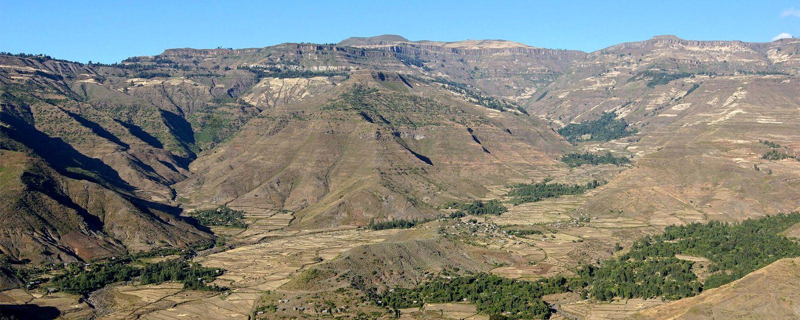 Le massif des Meket , Ethiopie