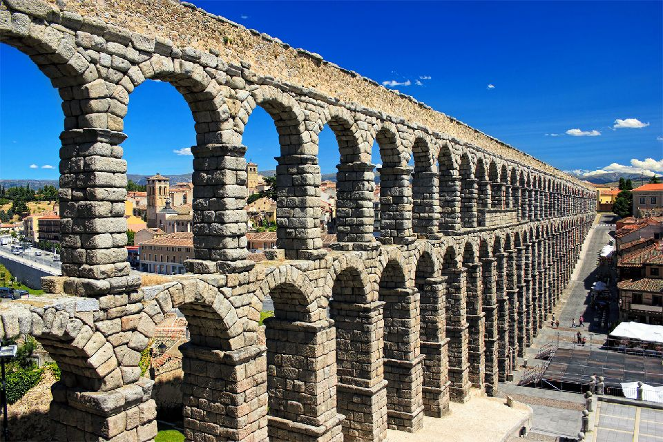 Aqueduc romain de Ségovie , Espagne