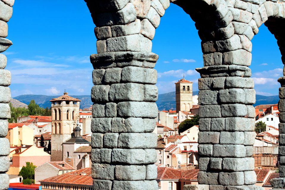 Les monuments, Travel, Tourism, Iberian, Aqueduct, Roman, The Past, Ancient, Famous Place, Construction Industry, Architecture, Segovia, Spain, Granite, Town, Angie Stone