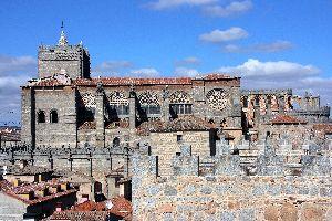 La cathédrale d'Avila , Espagne