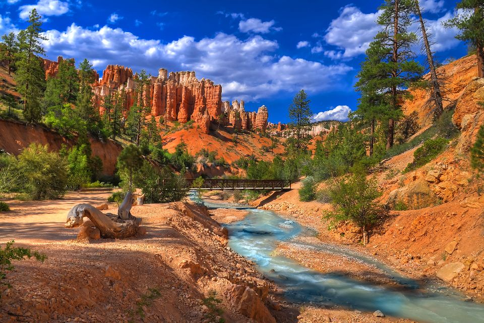 Le parc national de Bryce Canyon , Etats-Unis