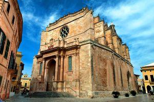 La cathédrale de Ciutadella , Espagne