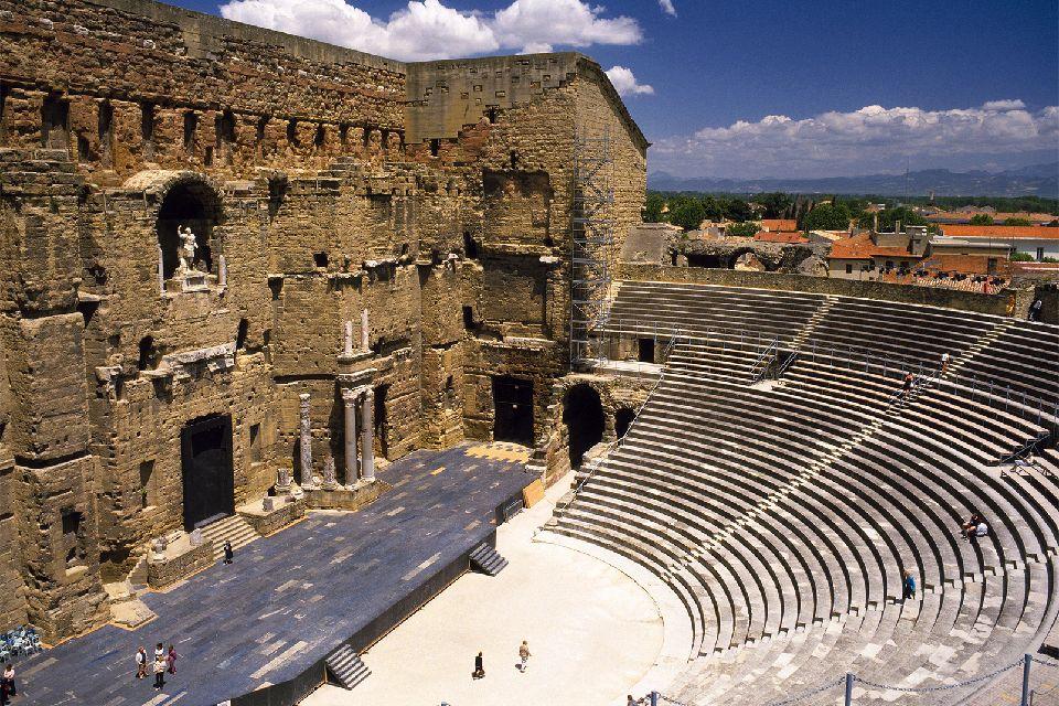 Le Théâtre Antique d'Orange , France