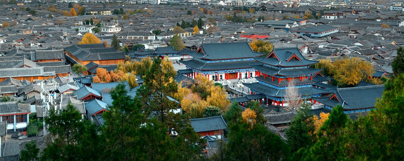 La vieille ville de Lijiang , Chine