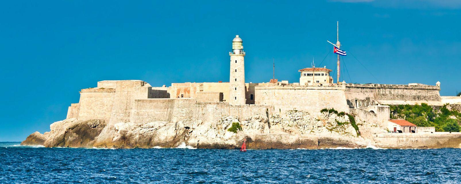 Le Château de San Pedro de la Roca , Cuba