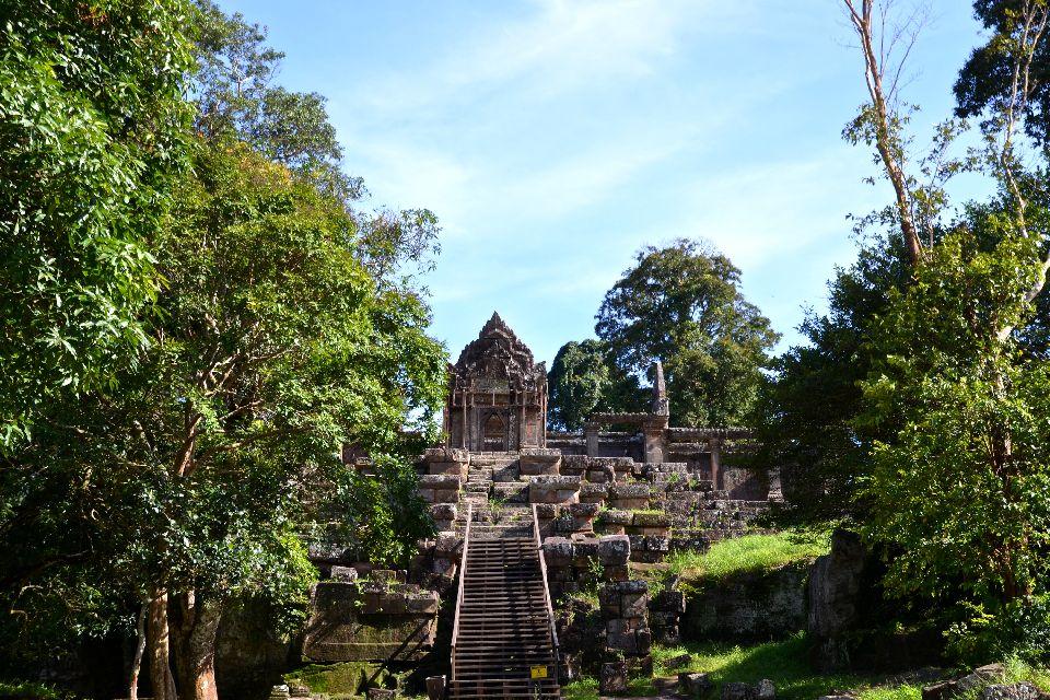 Le temple de Preah Vihear , Cambodge