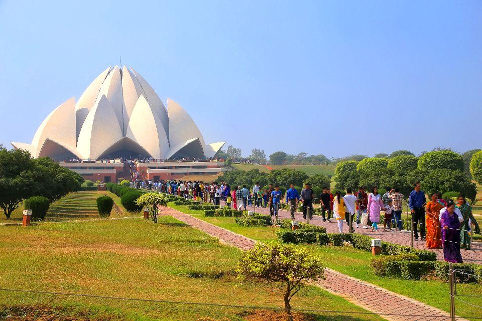 Le Temple Du Lotus 224 Bahapur Pendjab Et Haryana Inde