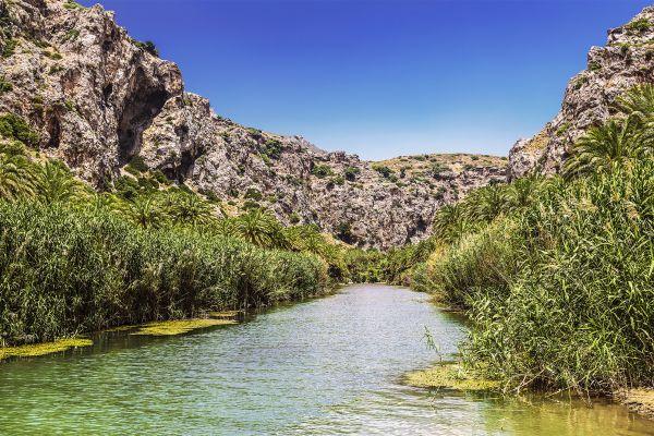 Varied landscapes, The chalky mountains, Landscapes, Crete