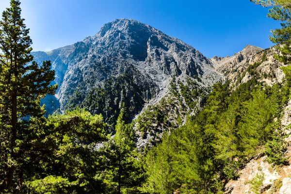 mountains to visit, The chalky mountains, Landscapes, Crete