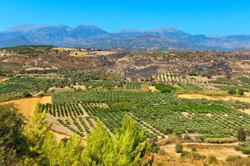 Les massifs calcaires, Les paysages, Crète