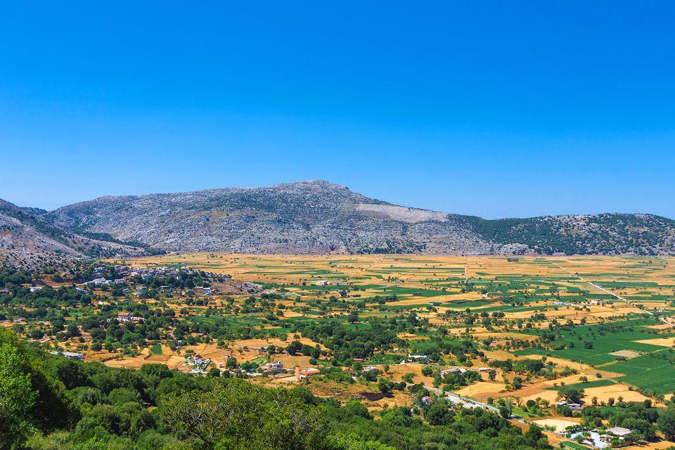 Paesaggio cretese, I massicci calcarei, I paesaggi, Creta