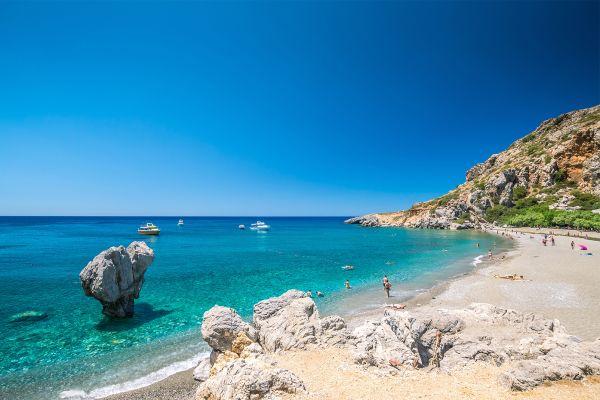 Die unberührten Strände, Trekking-Strecken, Die Landschaften, Kreta