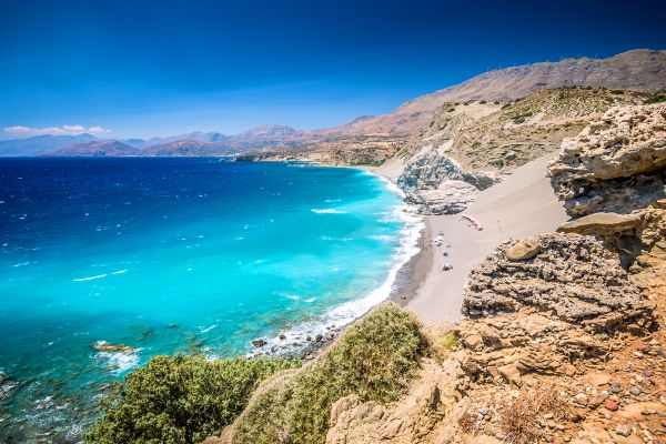 Crete, a welcoming home to hikers, The treks, Landscapes, Crete