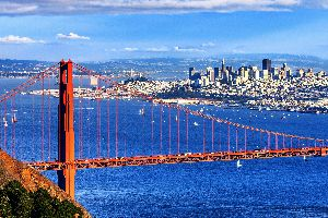Le Golden Gate , Le Golden Gate Bridge , Etats-Unis