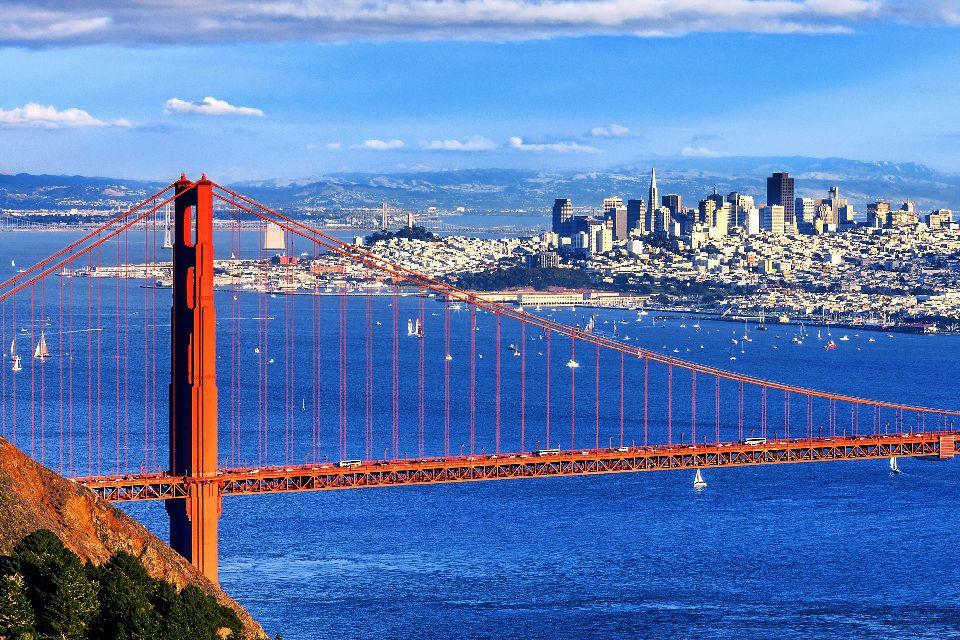 Le Golden Gate , Le Golden Gate Bridge , Etats-Unis
