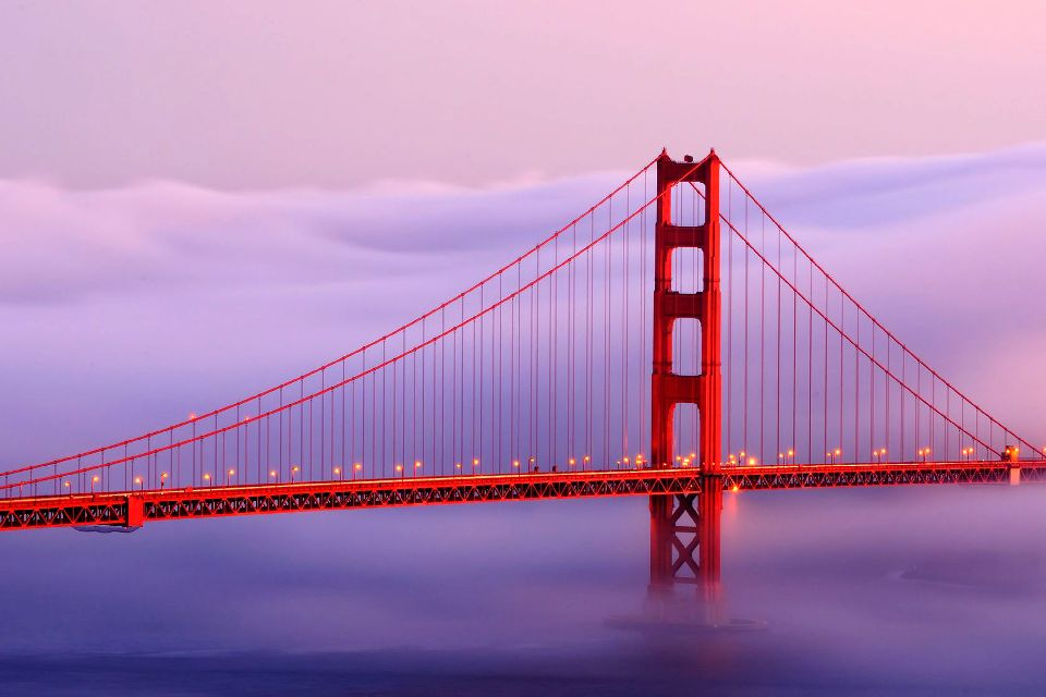 Le Golden Gate , Photogénique! , Etats-Unis