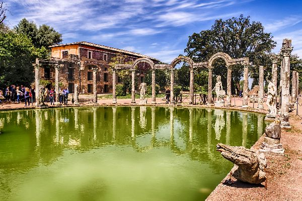 Villa d'Hadrien , La Villa d'Hadrien , Italie