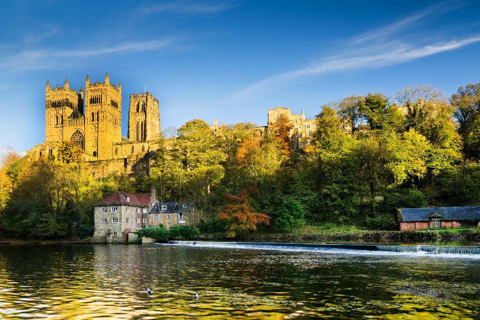 Cathédrale de Durham , La Wear , Royaume-Uni